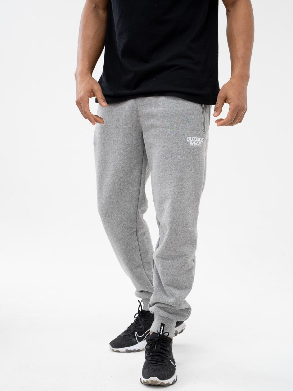 Spodnie Dresowe Outsidewear Embro Szare