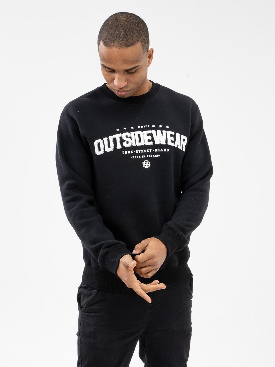 Bluza Bez Kaptura Outsidewear Goth Czarna