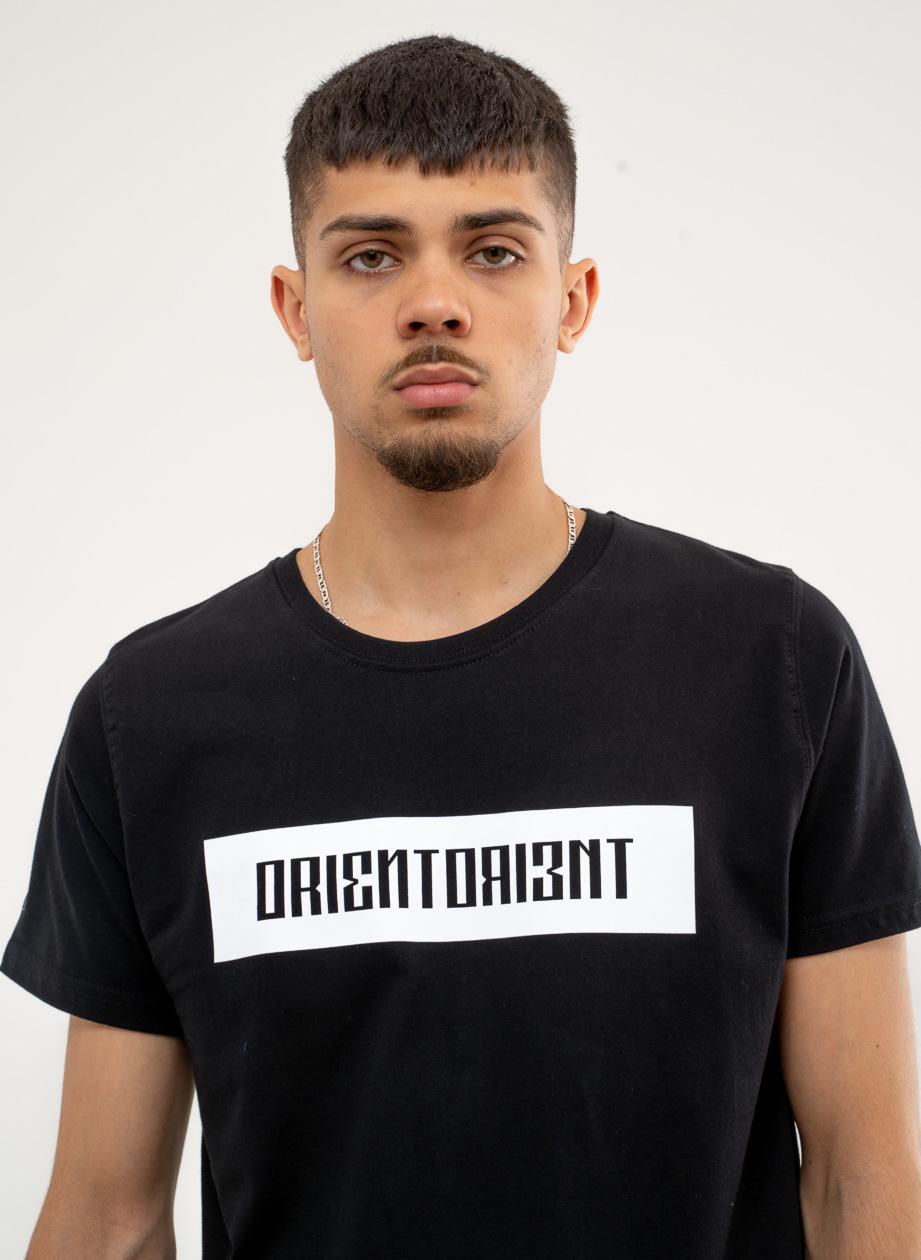 Koszulka Z Krótkim Rękawem BOR Orientorient Czarna