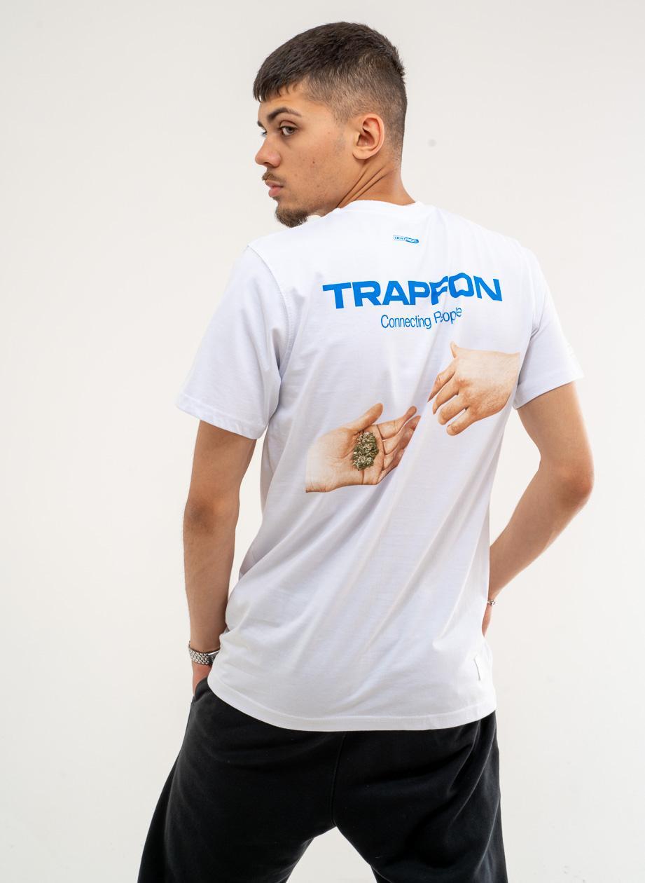 Koszulka Z Krótkim Rękawem BOR Trapfon Biała