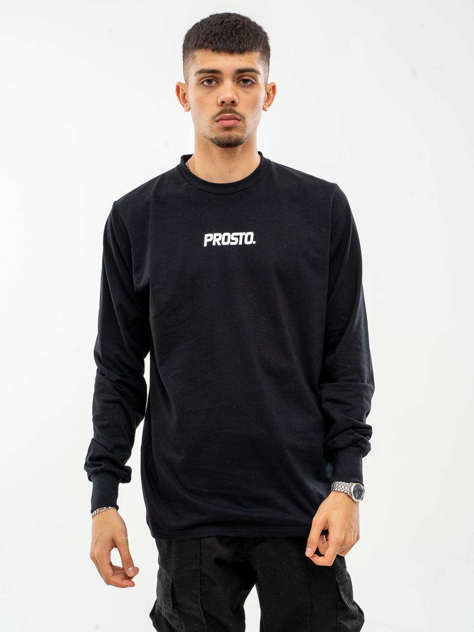 Koszulka Z Długim Rękawem Prosto Basic Czarna