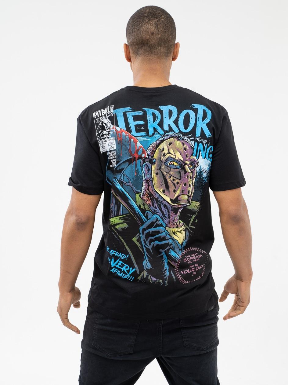 Koszulka Z Krótkim Rękawem Pitbull West Coast Axeman Czarna