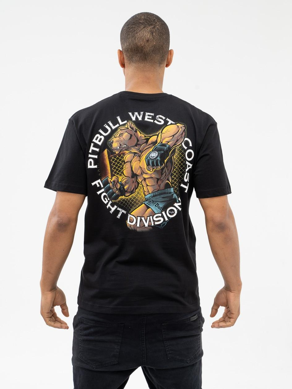 Koszulka Z Krótkim Rękawem Pitbull West Coast Fight Club 2019 Czarna