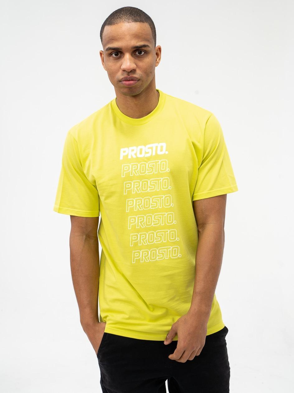 Koszulka Z Krótkim Rękawem Prosto Fruggally Neonowa Zielona