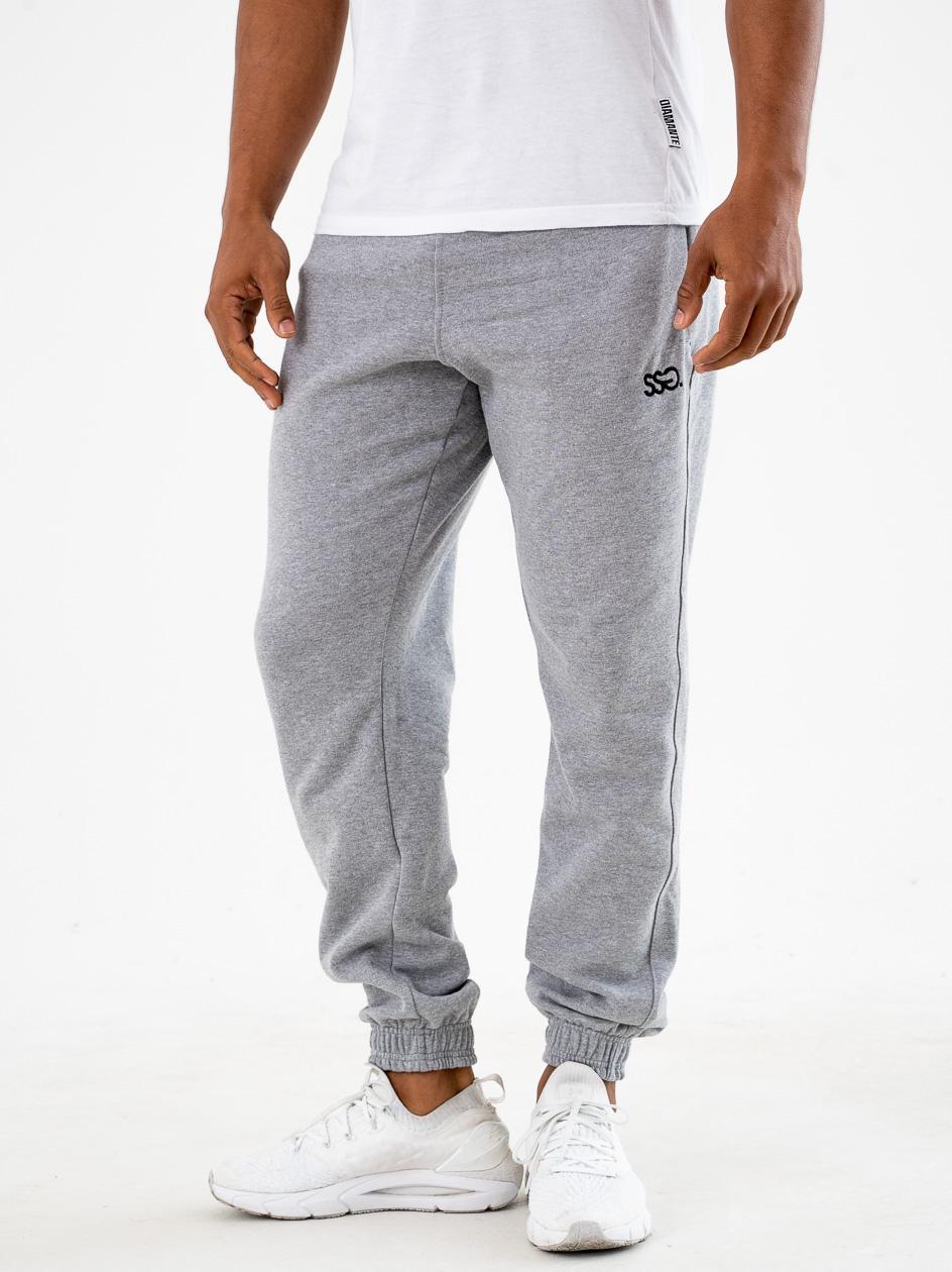Spodnie Dresowe Slim SSG Small Classic Szare