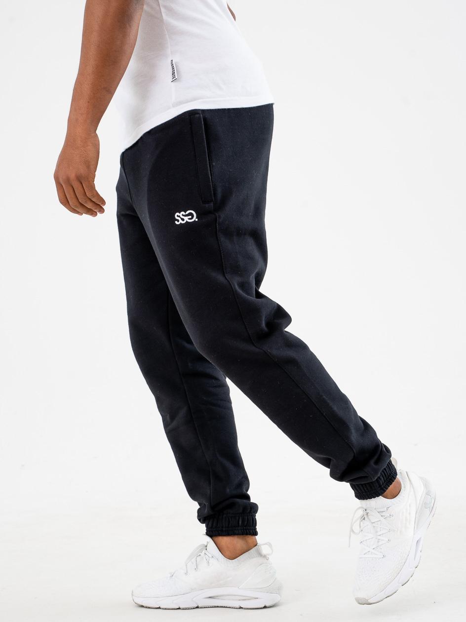 Spodnie Dresowe Slim SSG Small Classic Czarne