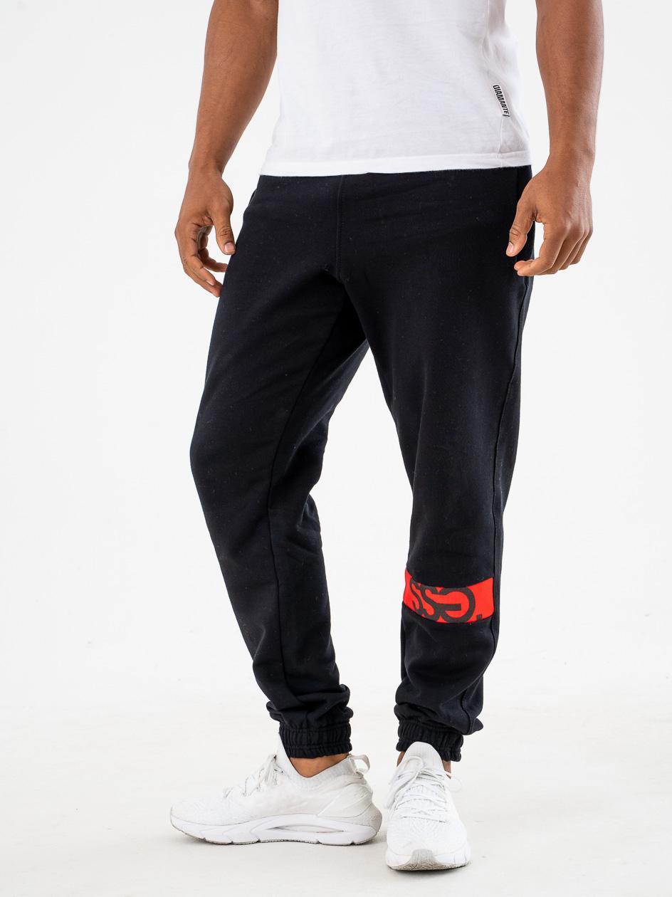 Spodnie Dresowe Slim SSG Cut Part Czarne