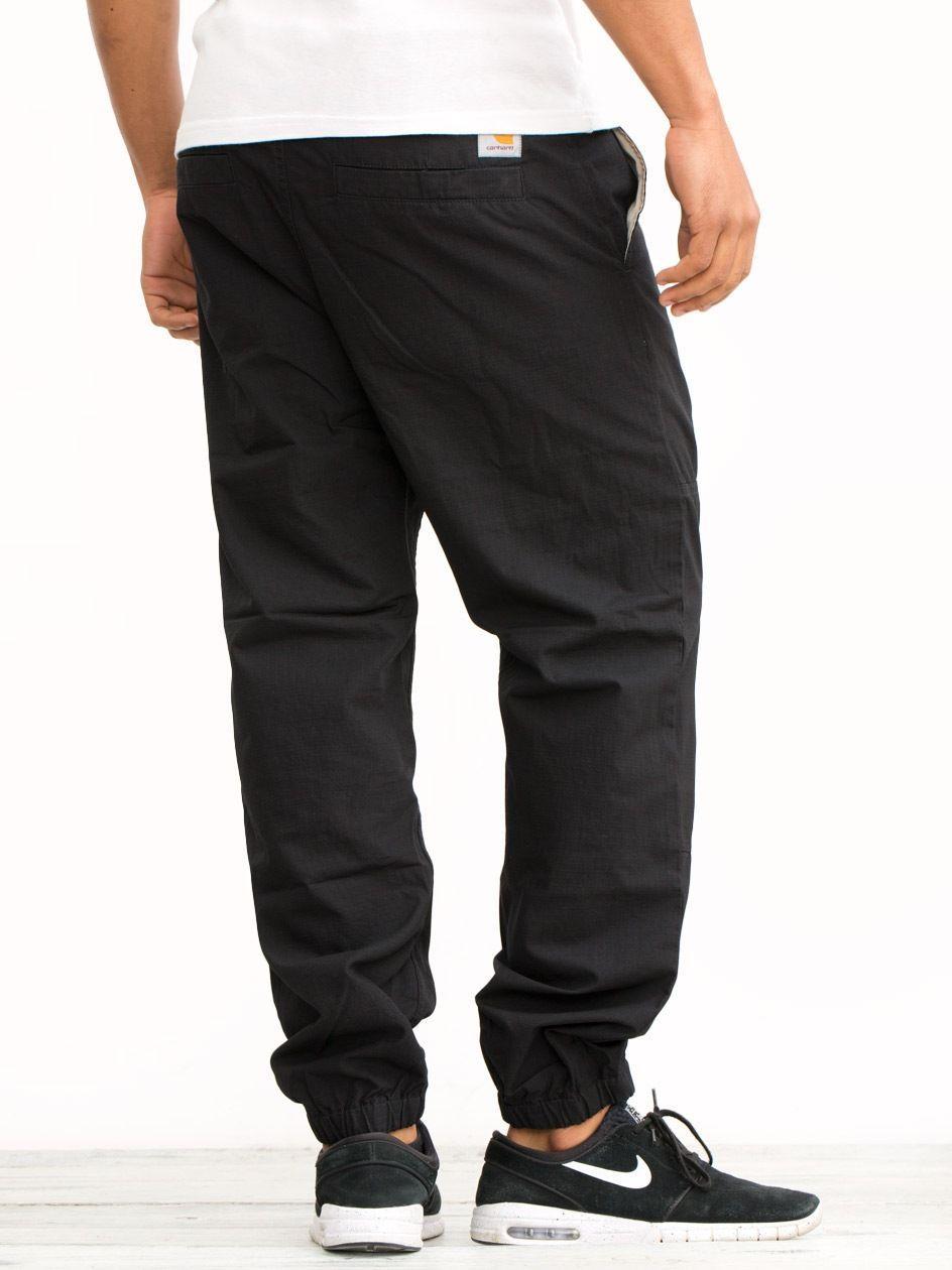 Spodnie Materiałowe Ripstop Jogger Carhartt WIP Marshall Columbia Czarne