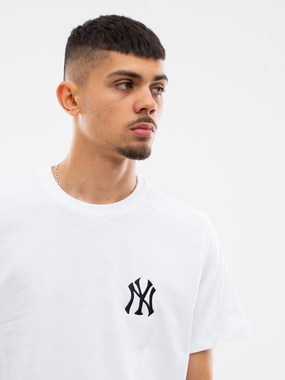 Koszulka Z Krótkim Rękawkiem 47 Brand New York Yankees LC EMB 47 Southside Biała