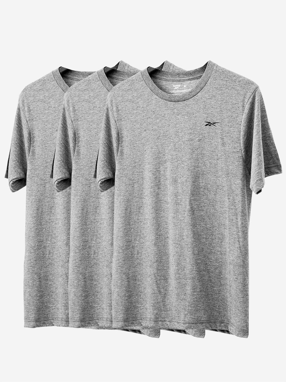 Zestaw 3 T-Shirtów Reebok Santo Szary