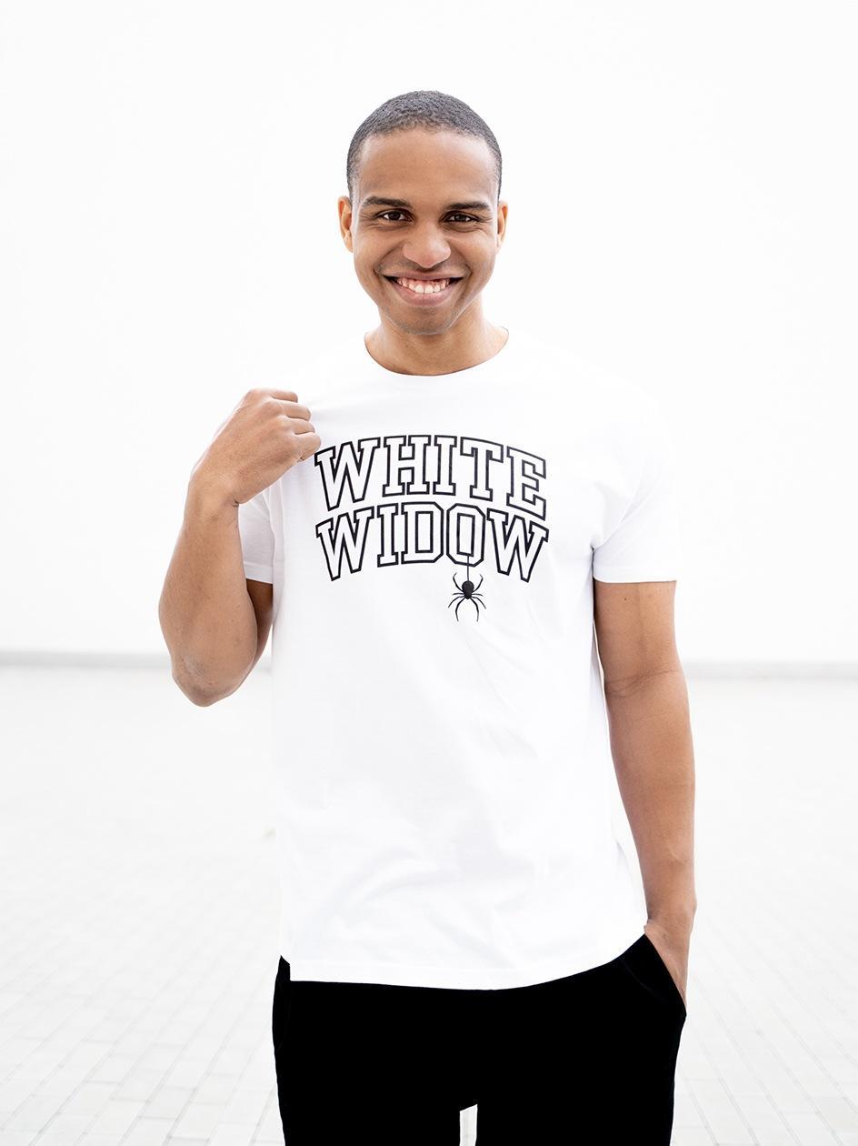 Koszulka Z Krótkim Rękawem Kush White Widow Biała