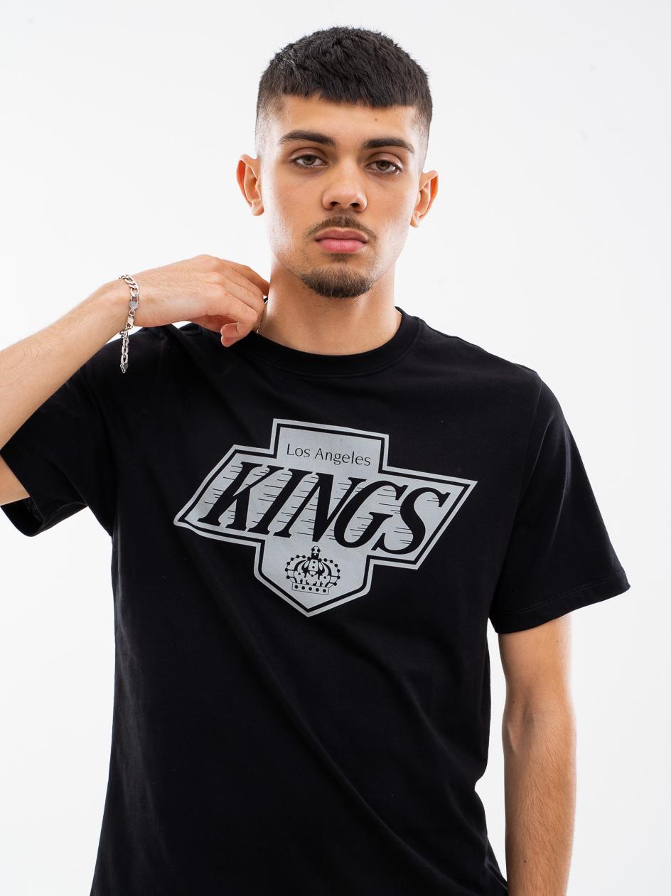 Koszulka Z Krótkim Rękawkiem 47 Brand Los Angeles Kings Vintage Imprint Echo Czarna copy