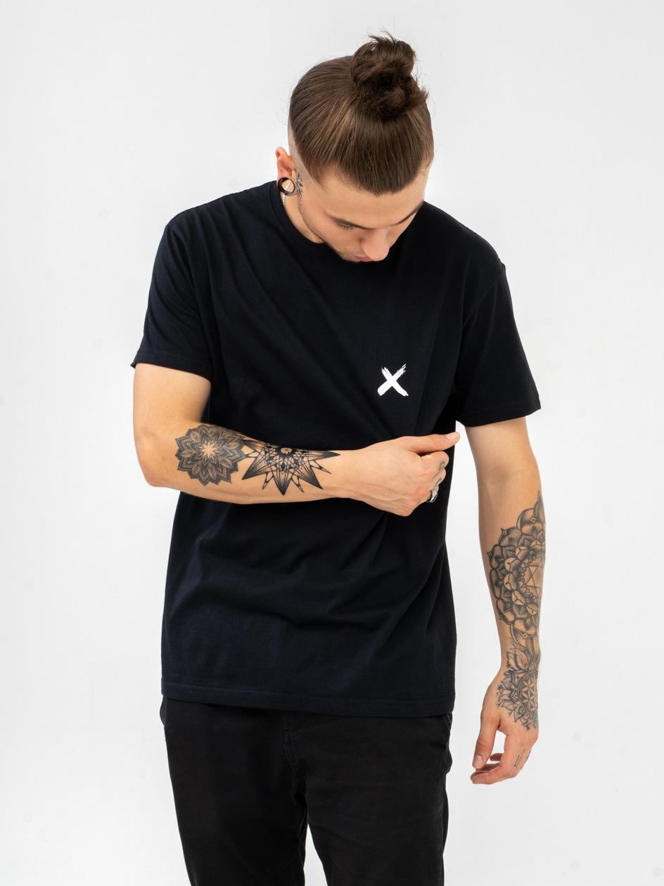Koszulka Z Krótkim Rękawem Point X Mini X Czarna