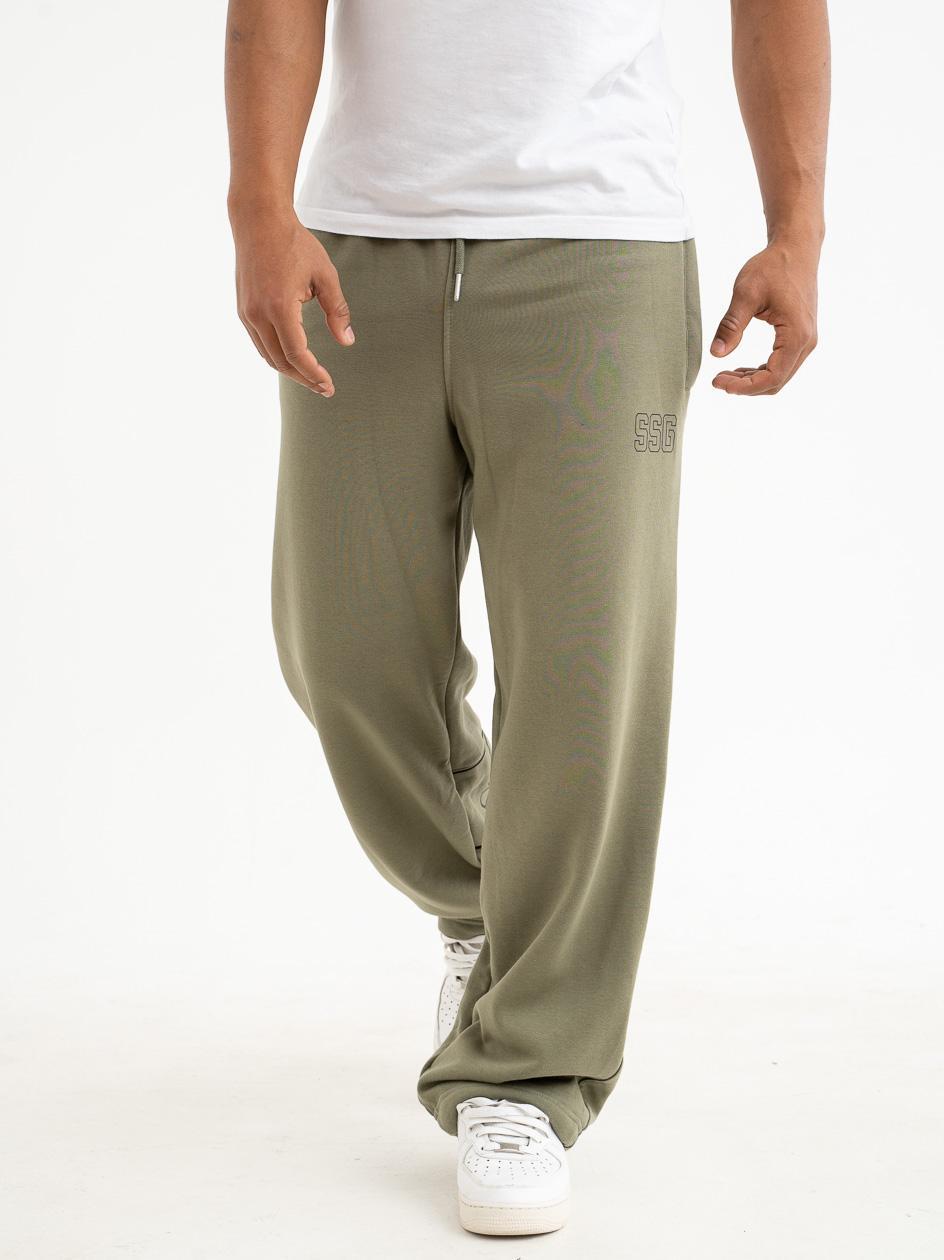 Spodnie Dresowe Baggy SSG Pipping Outline Khaki