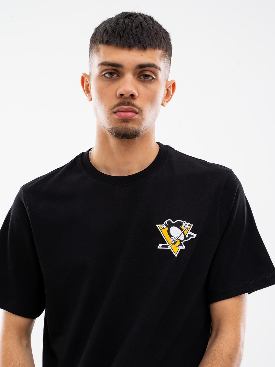 Koszulka Z Krótkim Rękawkiem 47 Brand Pittsburgh Penguins LC EMB 47 Southside Czarna