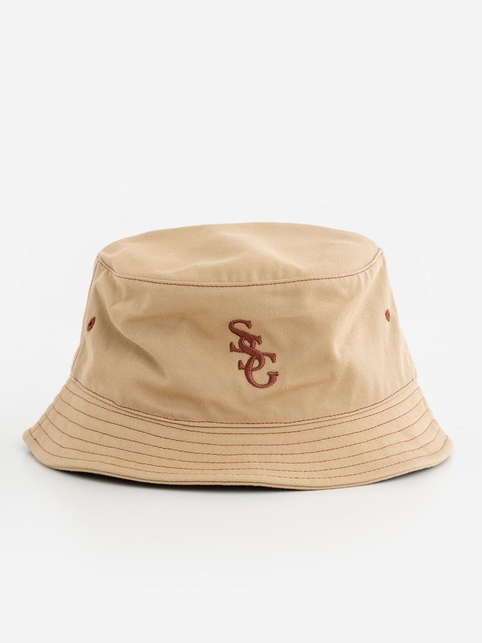 Bucket Hat SSG Slant Beżowy