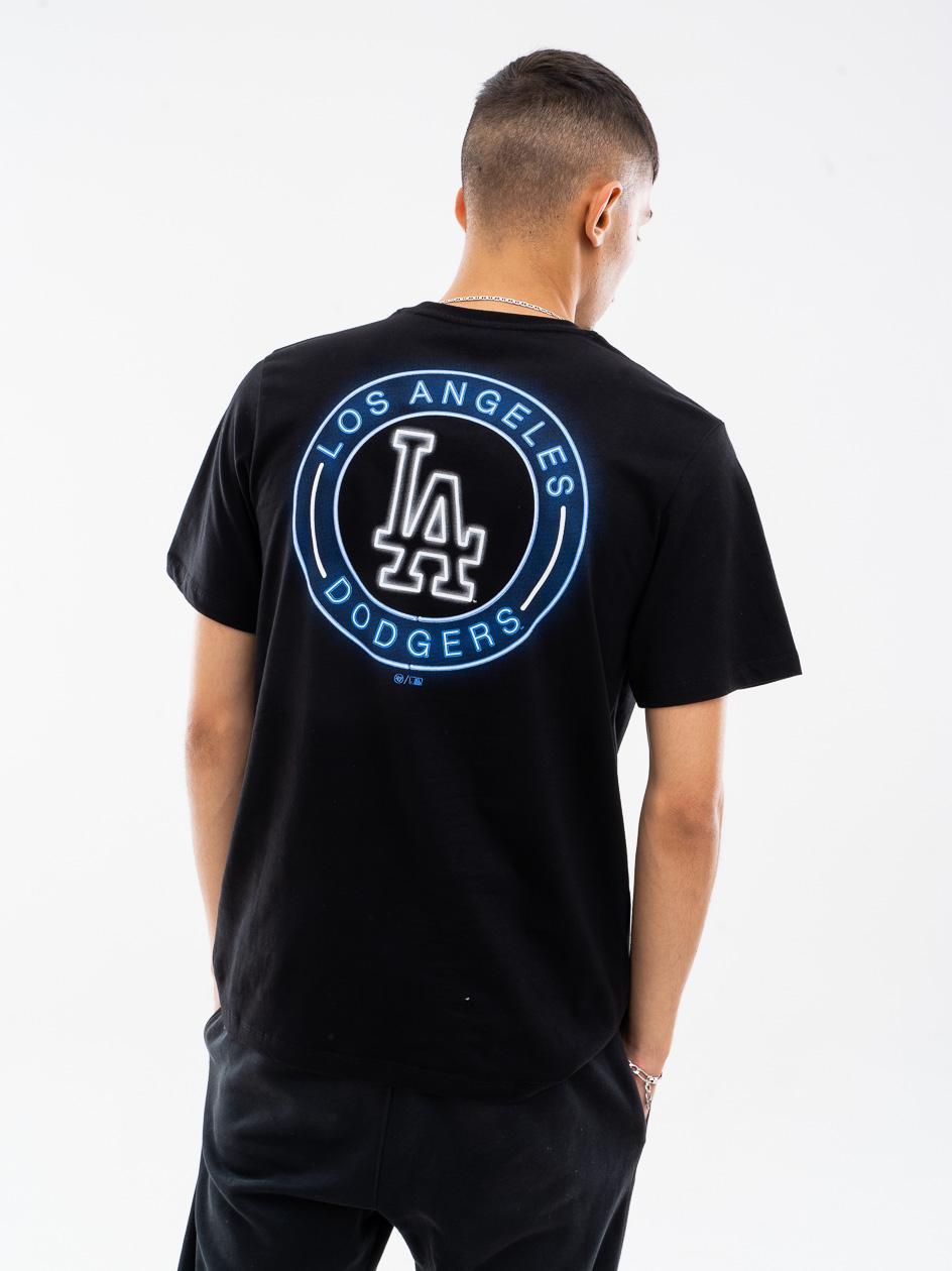 Koszulka Z Krótkim Rękawkiem 47 Brand Los Angeles Dodgers Afterglow 47 Echo Czarna