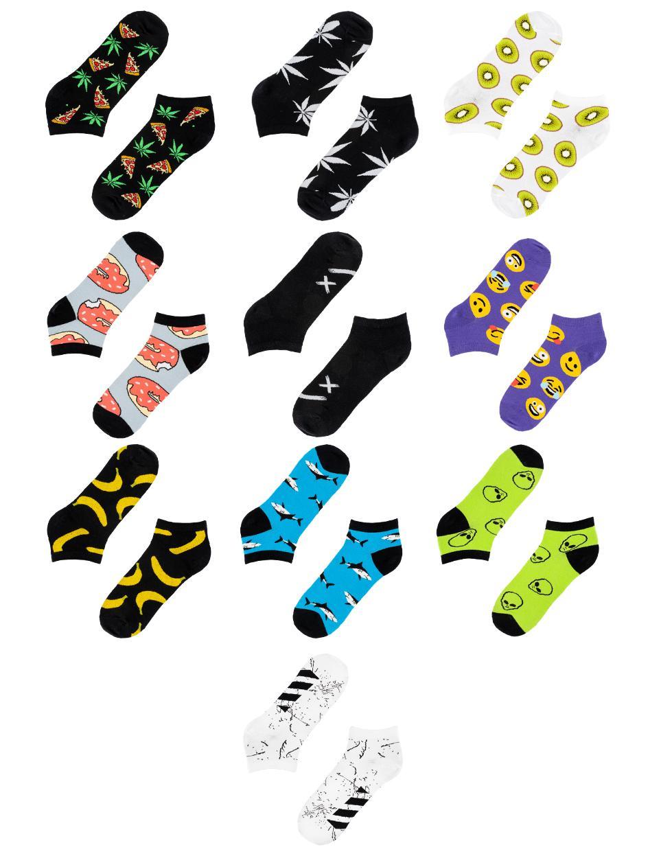 Zestaw 10 Par Skarpet Stopek MyStars x Blind Box Low Socks Mix 3