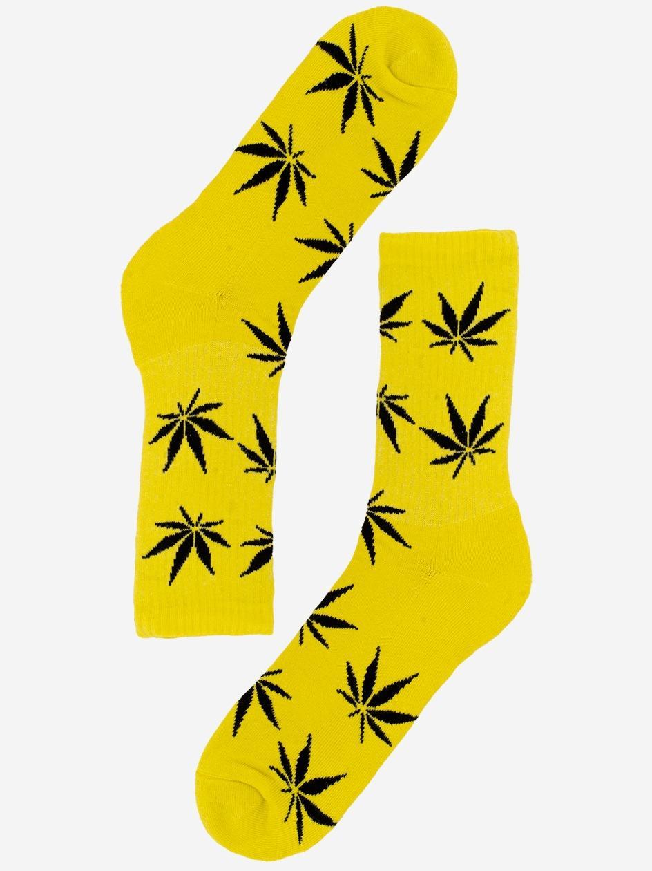 Długie Skarpetki Kush MJ Żółte / Czarne