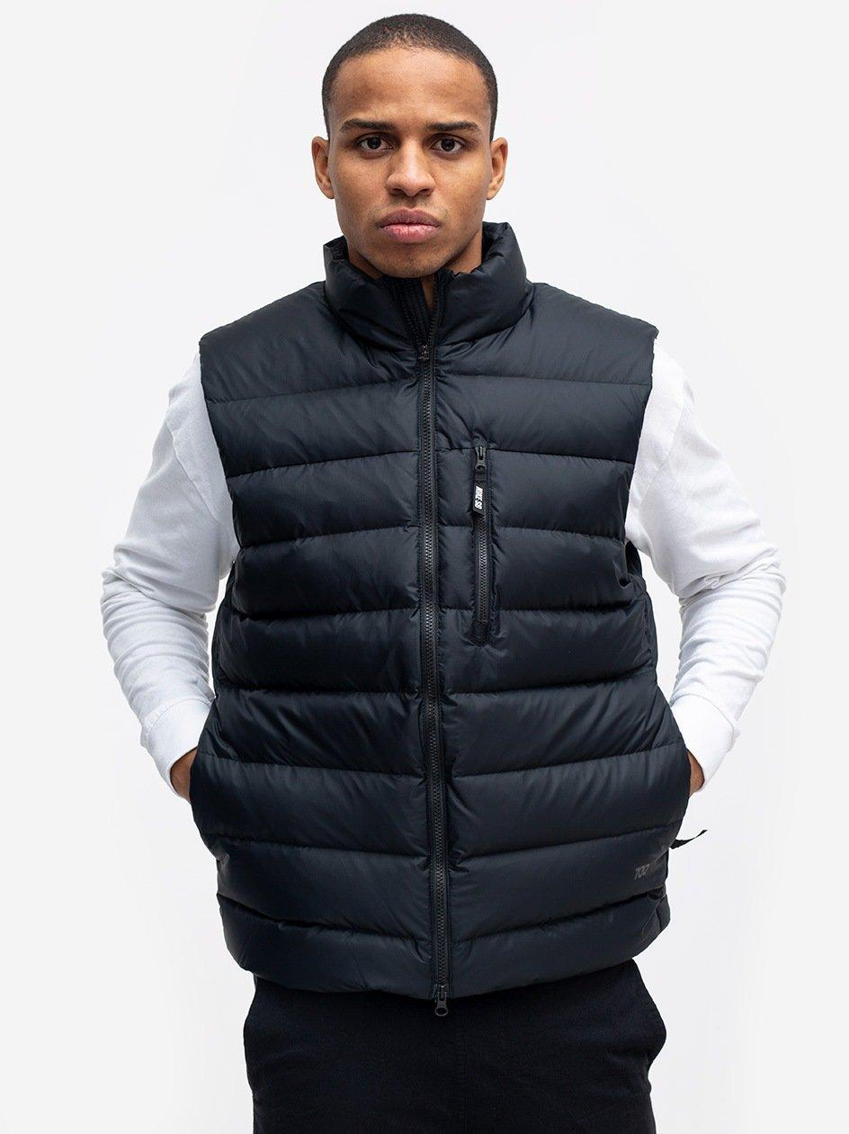 SB Vest Down Pack Black Black Black