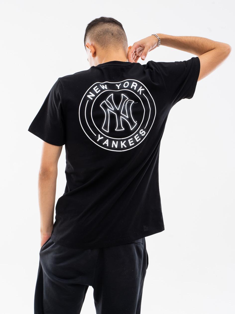 Koszulka Z Krótkim Rękawkiem 47 Brand New York Yankees Afterglow 47 Echo Czarna copy