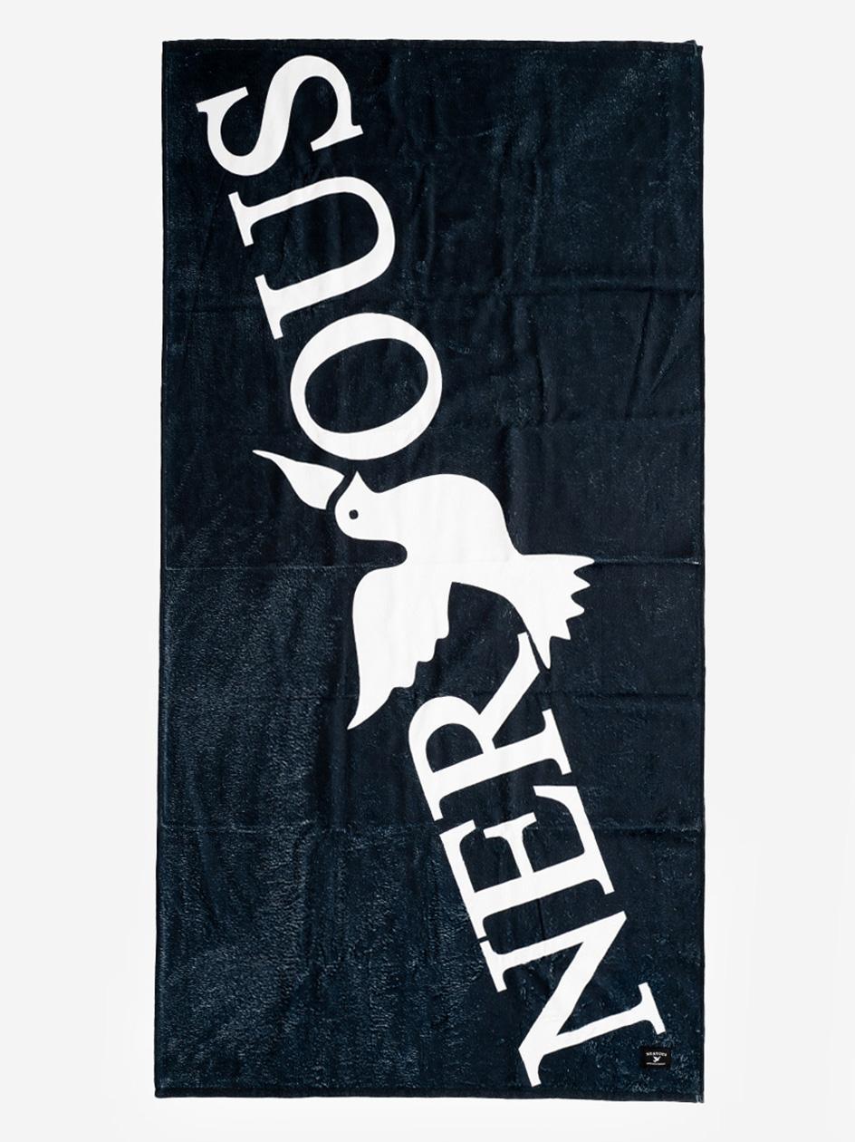 Ręcznik Kąpielowy Nervous Classic Czarny
