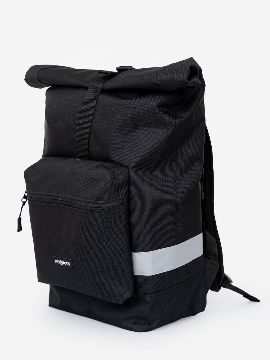 Plecak Nervous Delivery Czarny / Reflective