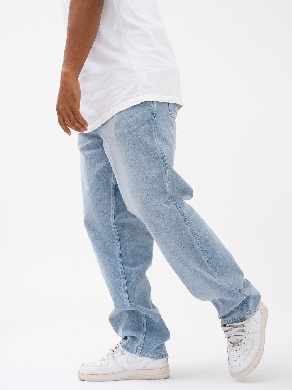 Spodnie Jeansowe Carhartt Simple Norco Cotton Jasne Niebieskie