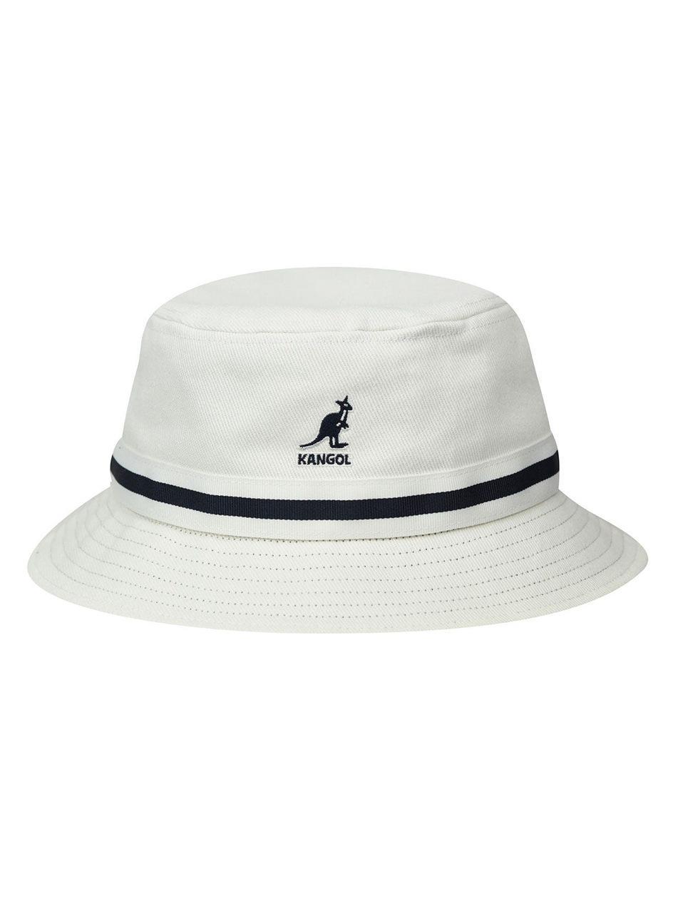 Kapelusz Bucket Hat Kangol Stripe Lahinch Biały