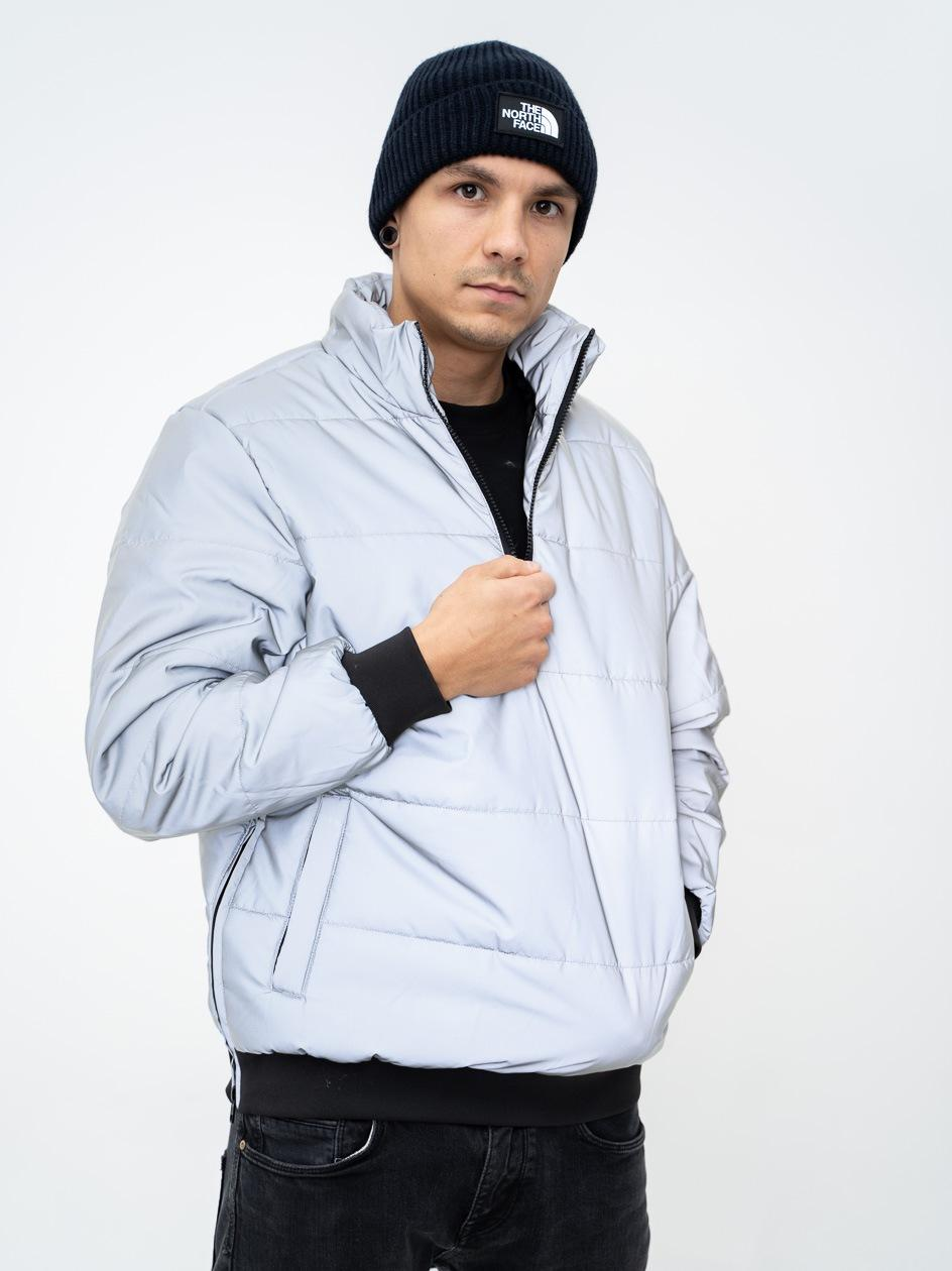 Reflective Pullover Jacket Silver TB3151