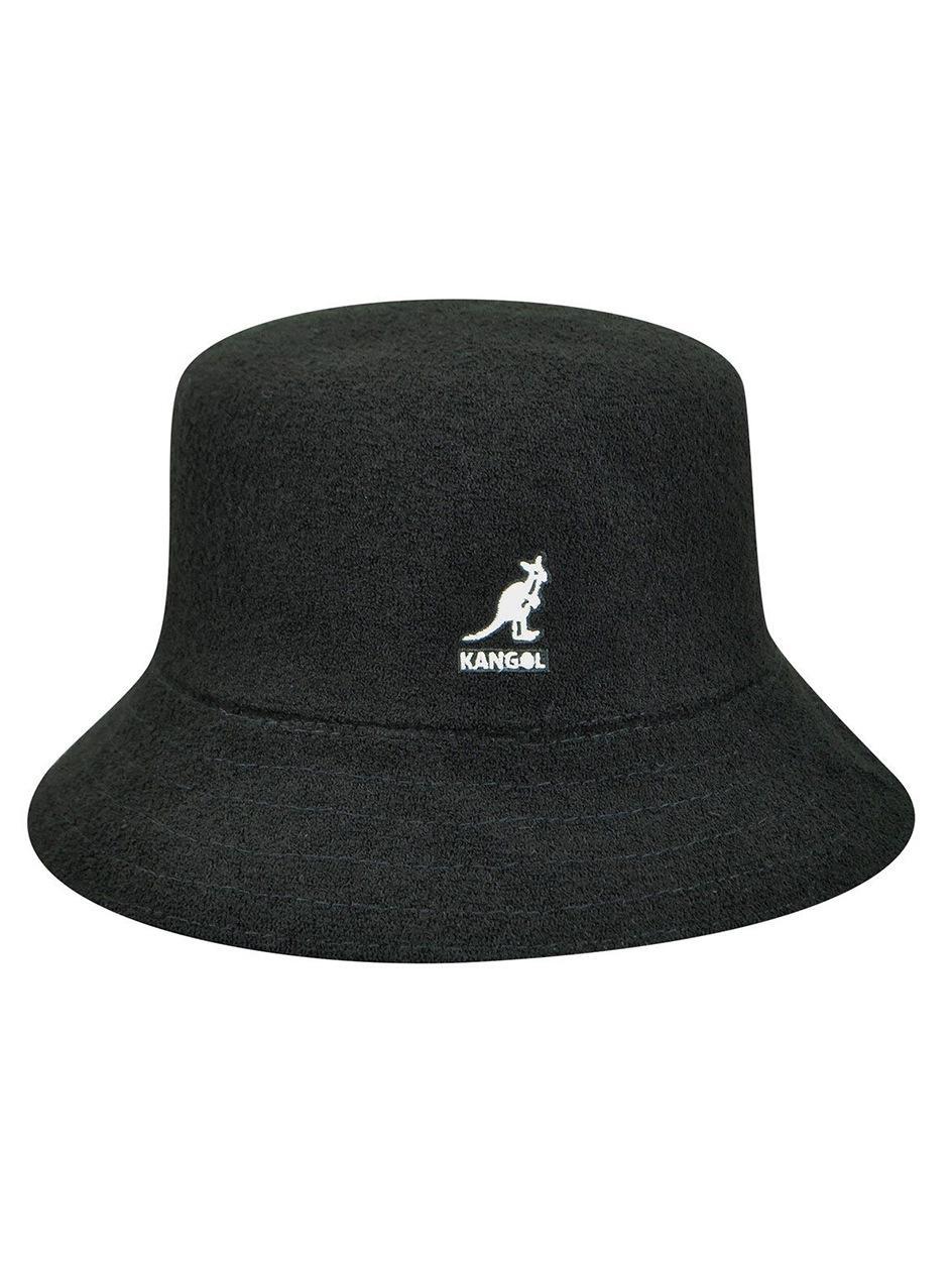 Kapelusz Bucket Hat Kangol Bermuda Czarny