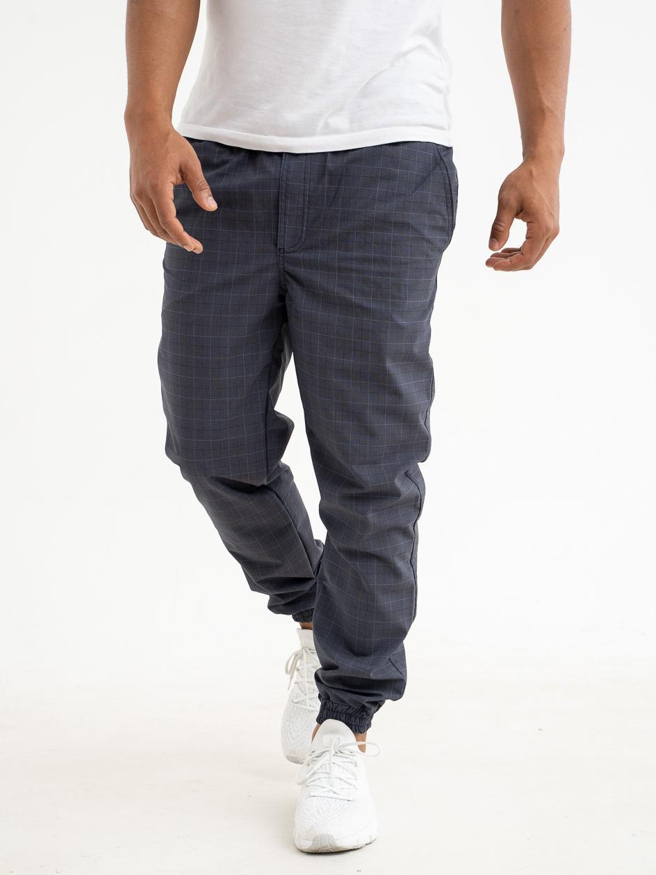 Spodnie Materiałowe Jogger Grube Lolo Core Squared Ciemne Niebieskie