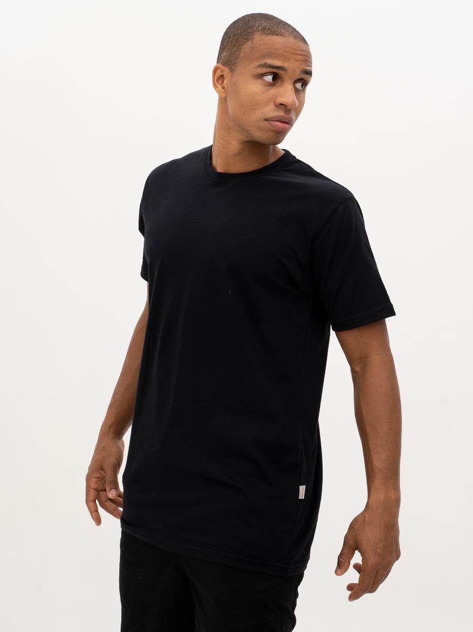 Koszulka Z Krótkim Rękawem Dystrykt Basic Czarna
