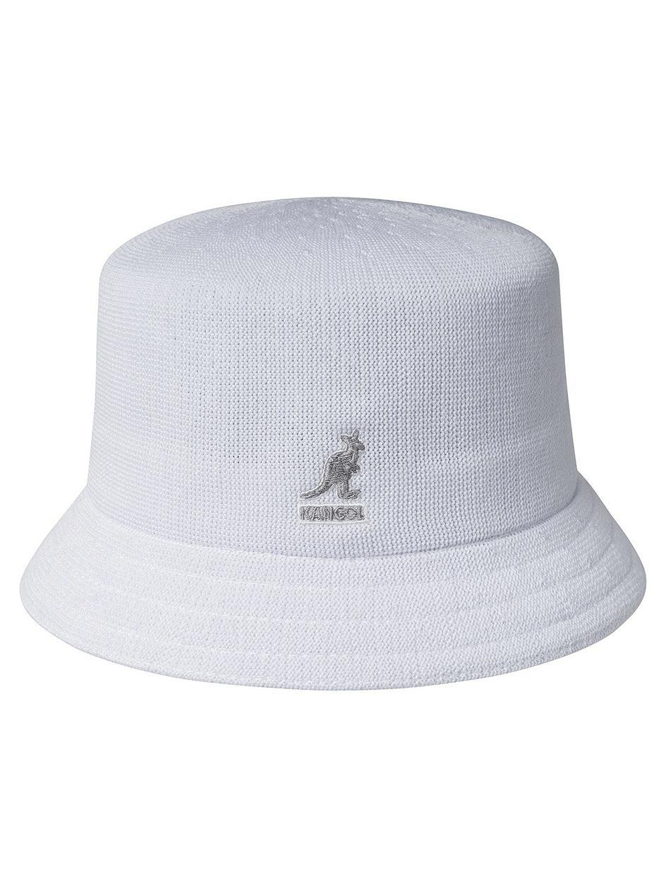 Kapelusz Bucket Hat Kangol Tropic Bin Biały