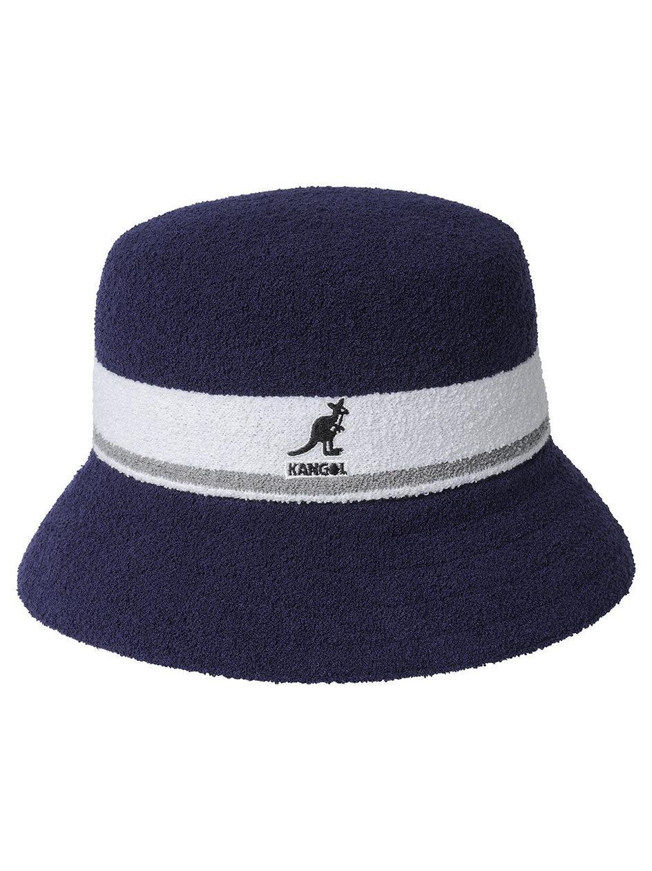 Kapelusz Bucket Hat Kangol Bermuda Stripe Ciemny Niebieski