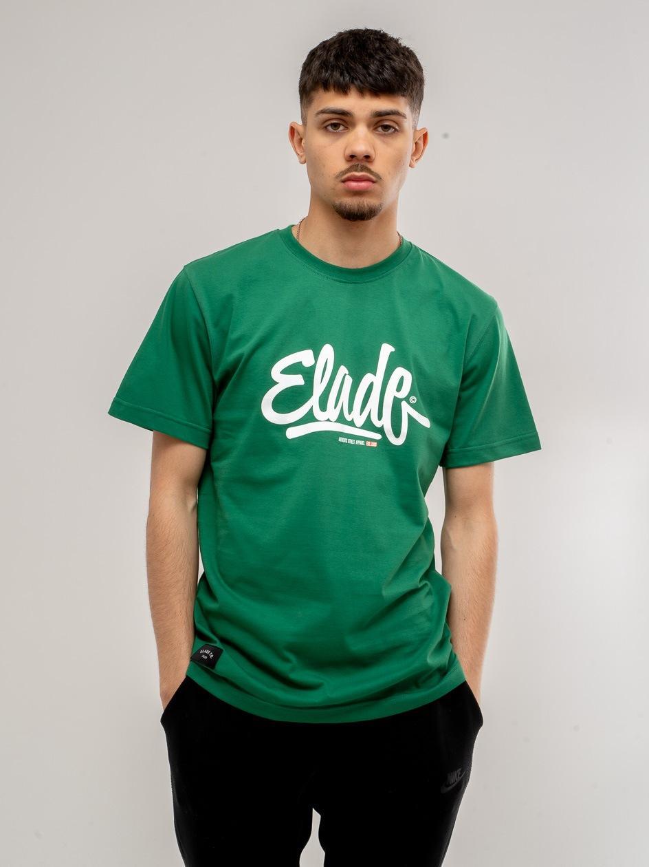 Koszulka Z Krótkim Rękawem Elade Clide Zielona