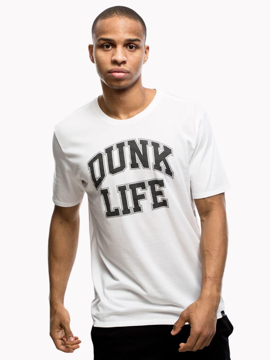 Rise Basketball Verbiage Tee White Black