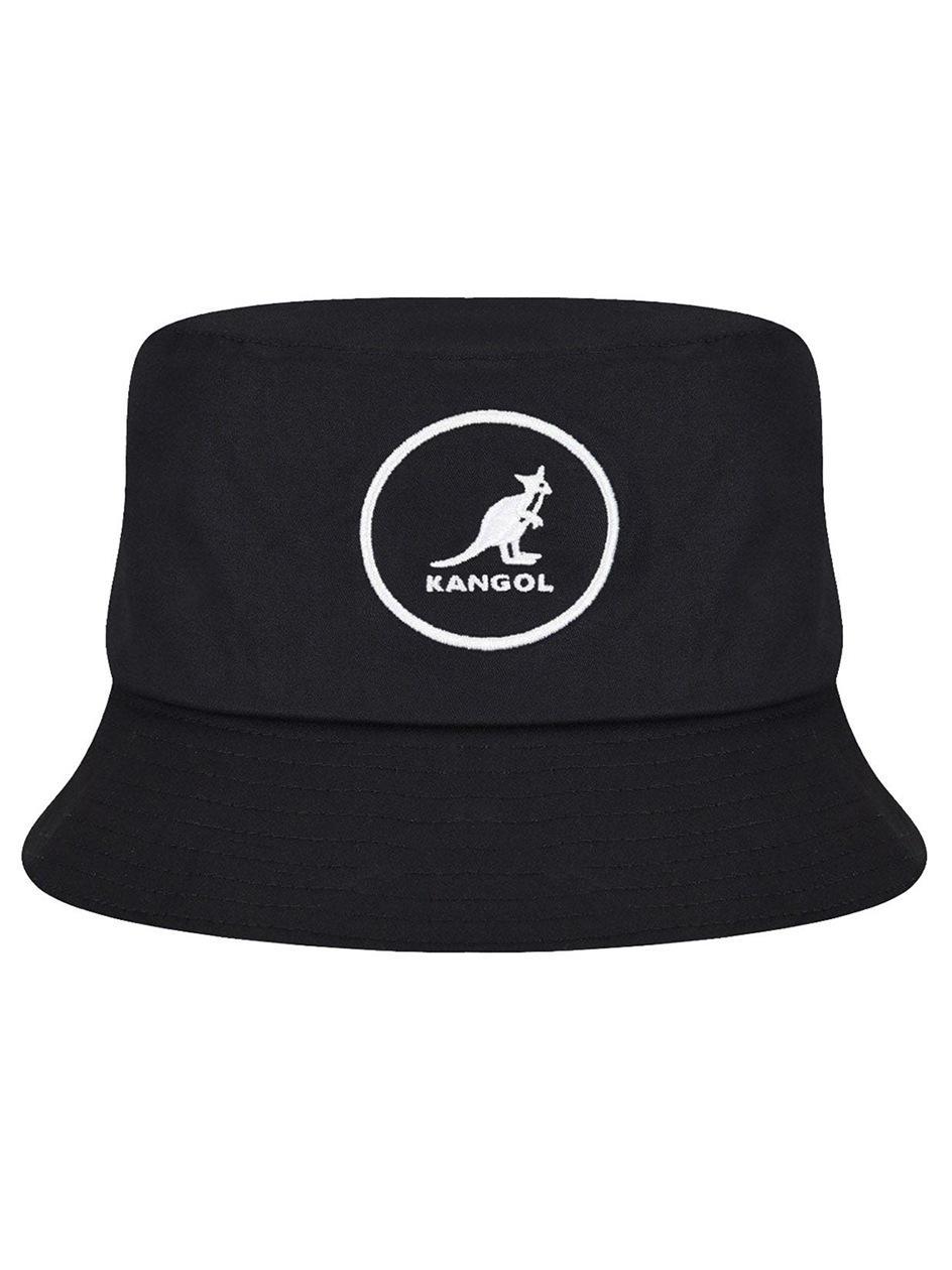 Kapelusz Bucket Hat Kangol Cotton Bucket Czarny