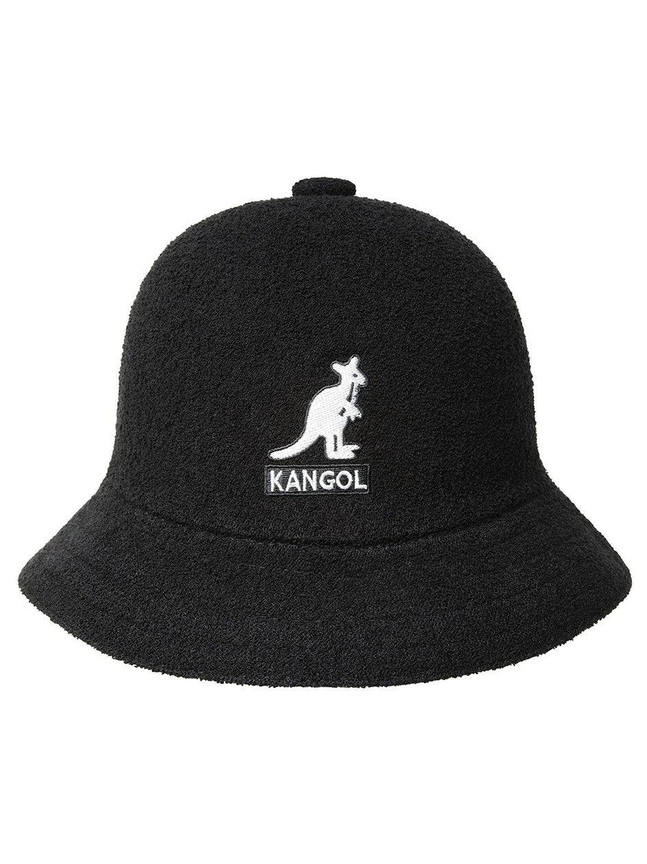 Kapelusz Bucket Hat Kangol Big Logo Casual Czarny