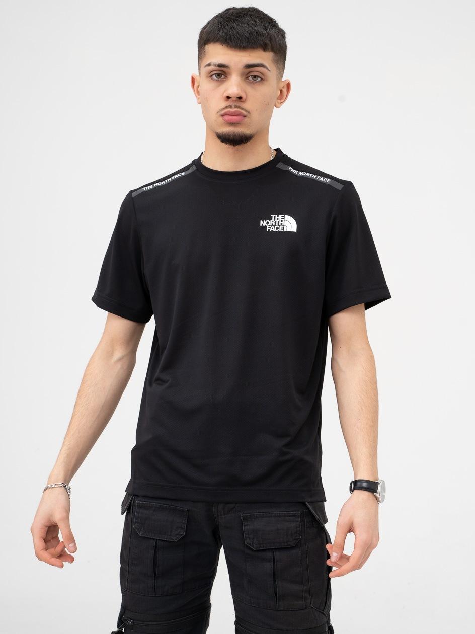 Sportowa Koszulka Z Krótkim Rękawem The North Face MA S/S Czarna