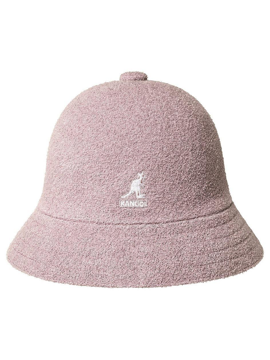 Kapelusz Bucket Hat Kangol Bermuda Casual Różowy