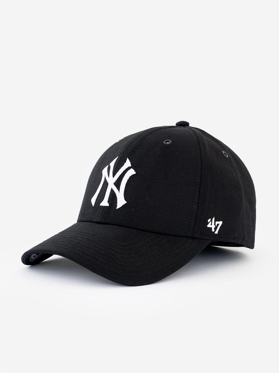 Czapka Z Daszkiem Dad Hat 47 Brand New York Yankees MLB Aerial Czarna / Biała copy