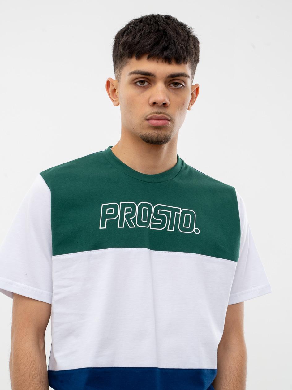 Koszulka Z Krótkim Rękawem Prosto Skitle Ciemna Zielona