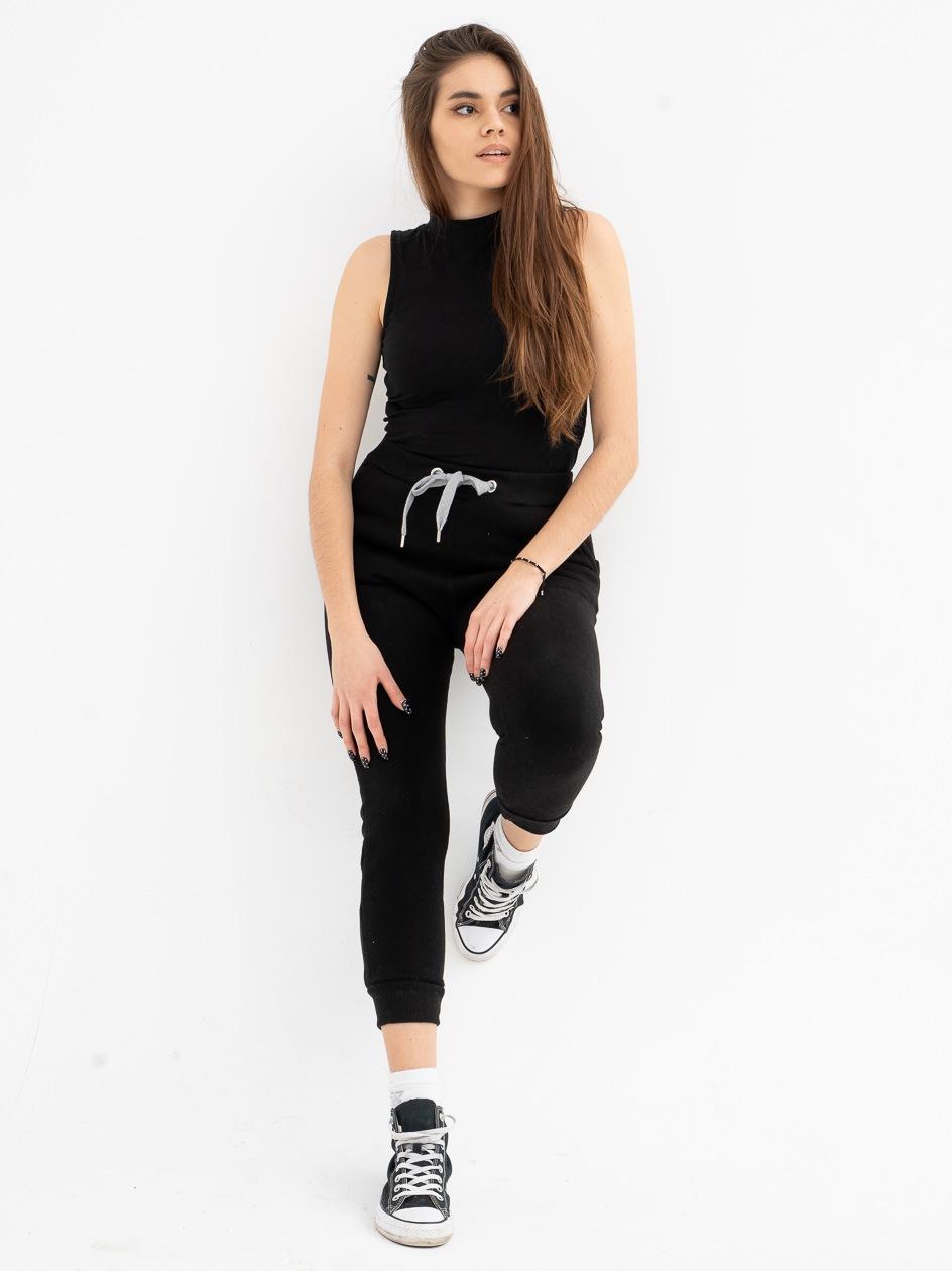 Spodnie Dresowe Point X Simple Czarne