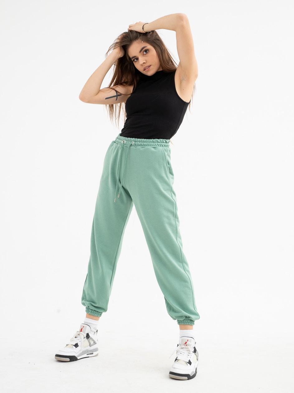 Spodnie Dresowe Point X Loose Zielone