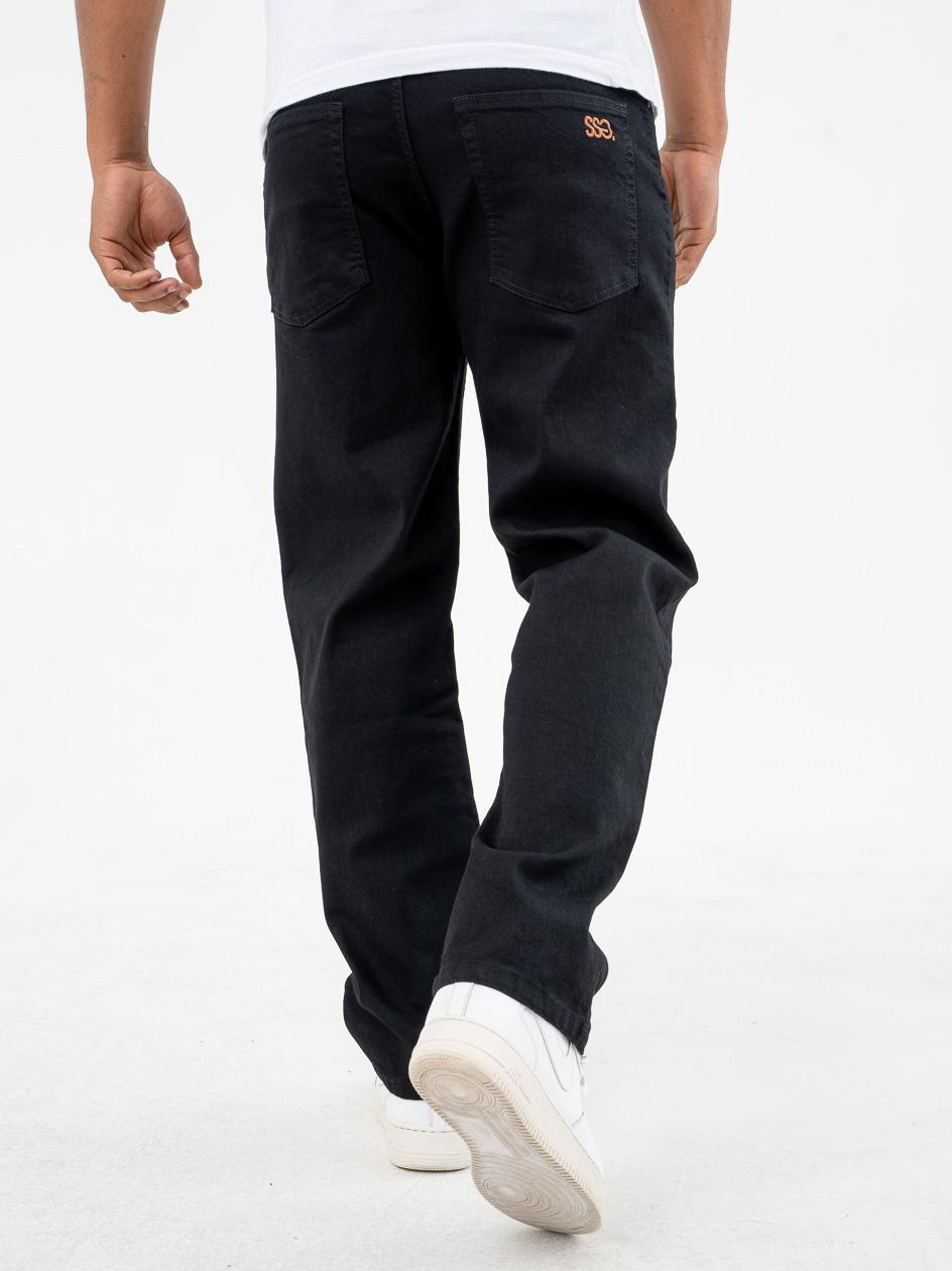 Spodnie Jeansowe Regular SSG Small Czarne