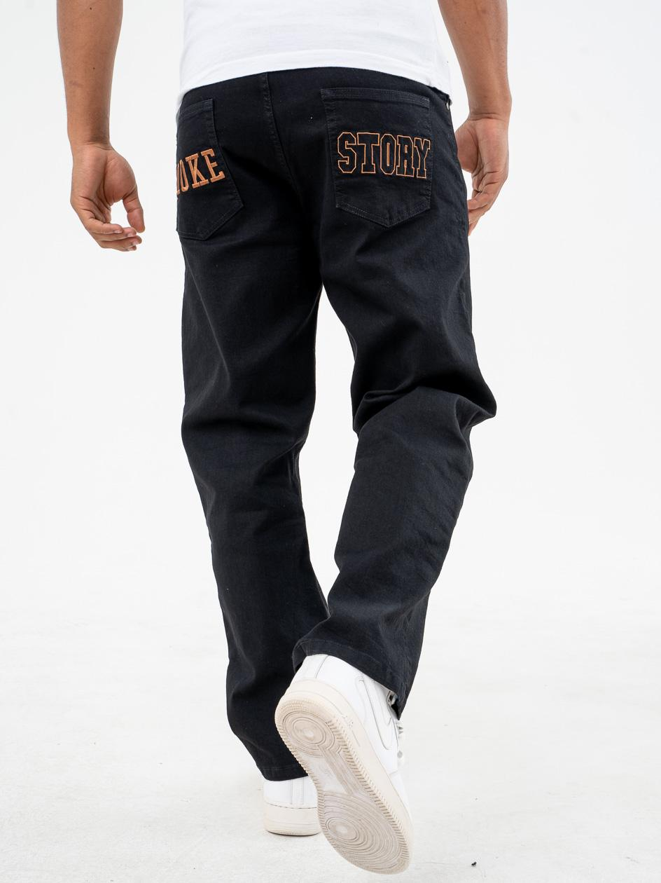 Spodnie Jeansowe Baggy SSG Smoke Story Czarne