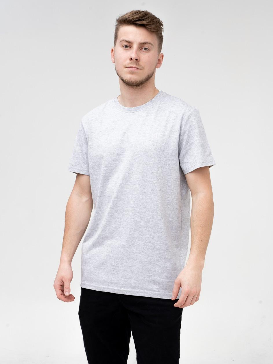 Koszulka Z Krótkim Rękawem 4F Base Szara