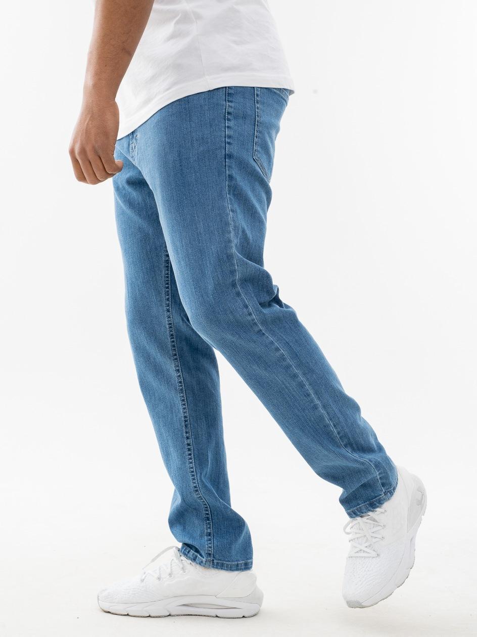 Spodnie Jeansowe Slim SSG Classic Jasne Niebieskie