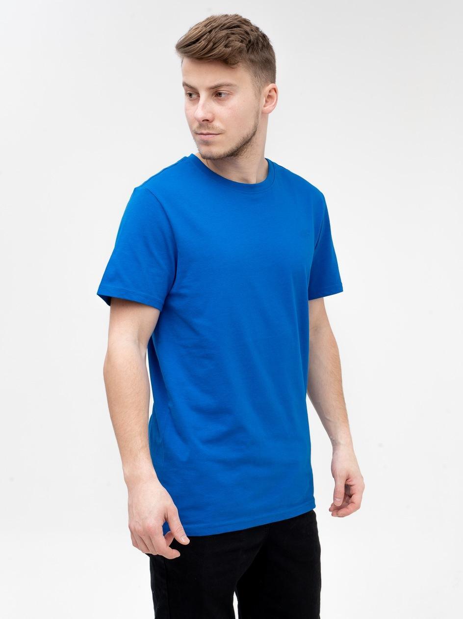 Koszulka Z Krótkim Rękawem 4F Base Niebieska